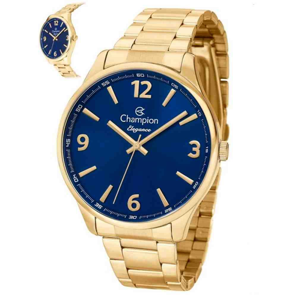 Relógio Champion Feminino Dourado CN26206A