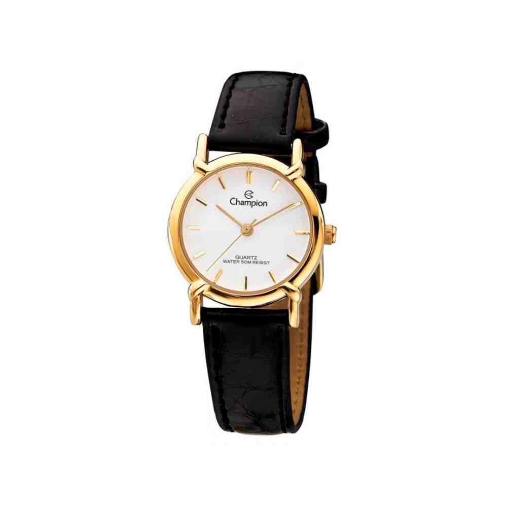 Relógio Champion Feminino Dourado CN28099B