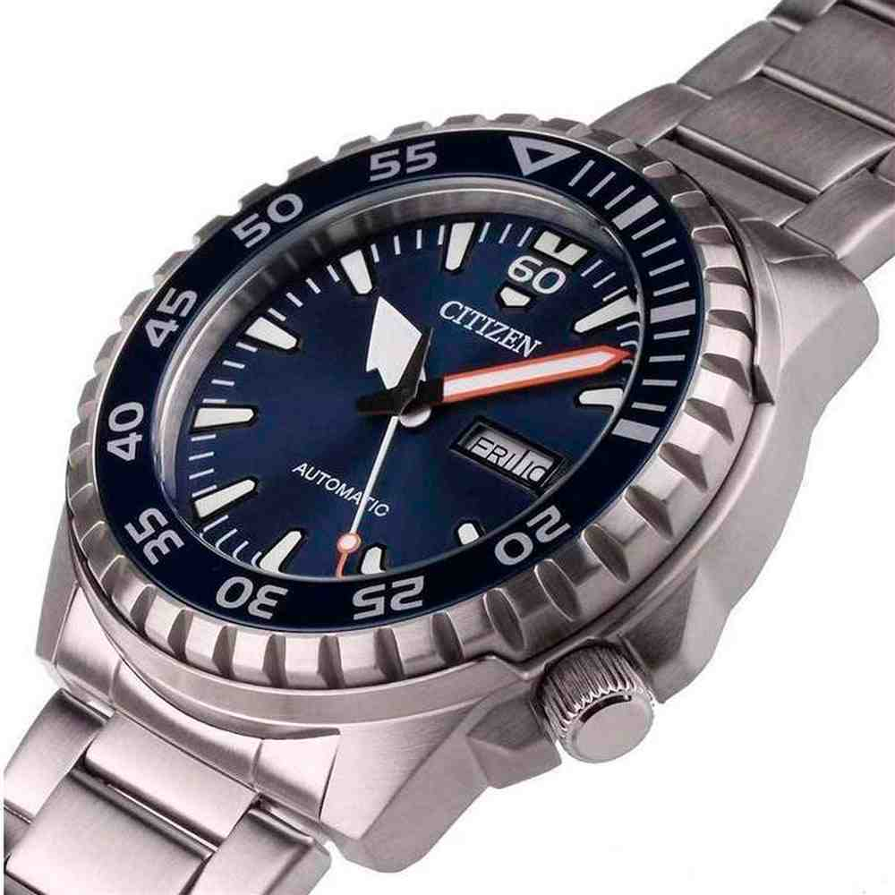 Relógio Citizen Masculino Automático Prata TZ31203F