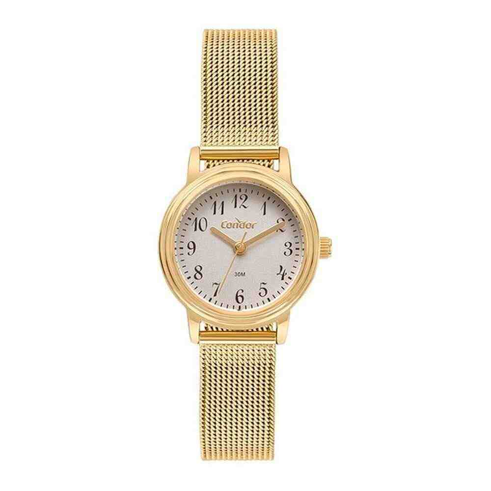 Relógio Condor Feminino Analógico Dourado COPC21AEBB/4C