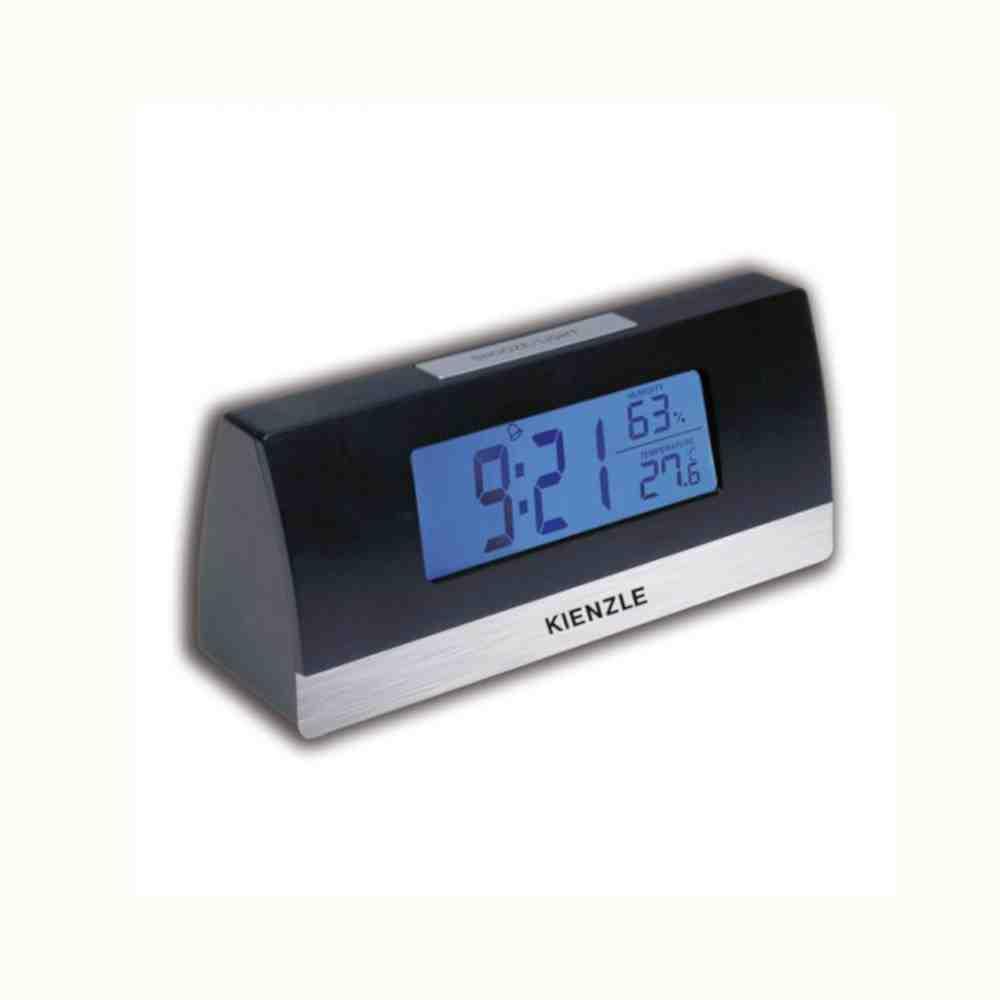 Relógio Despertador Digi Time Kienzle Preto 289/1790.02