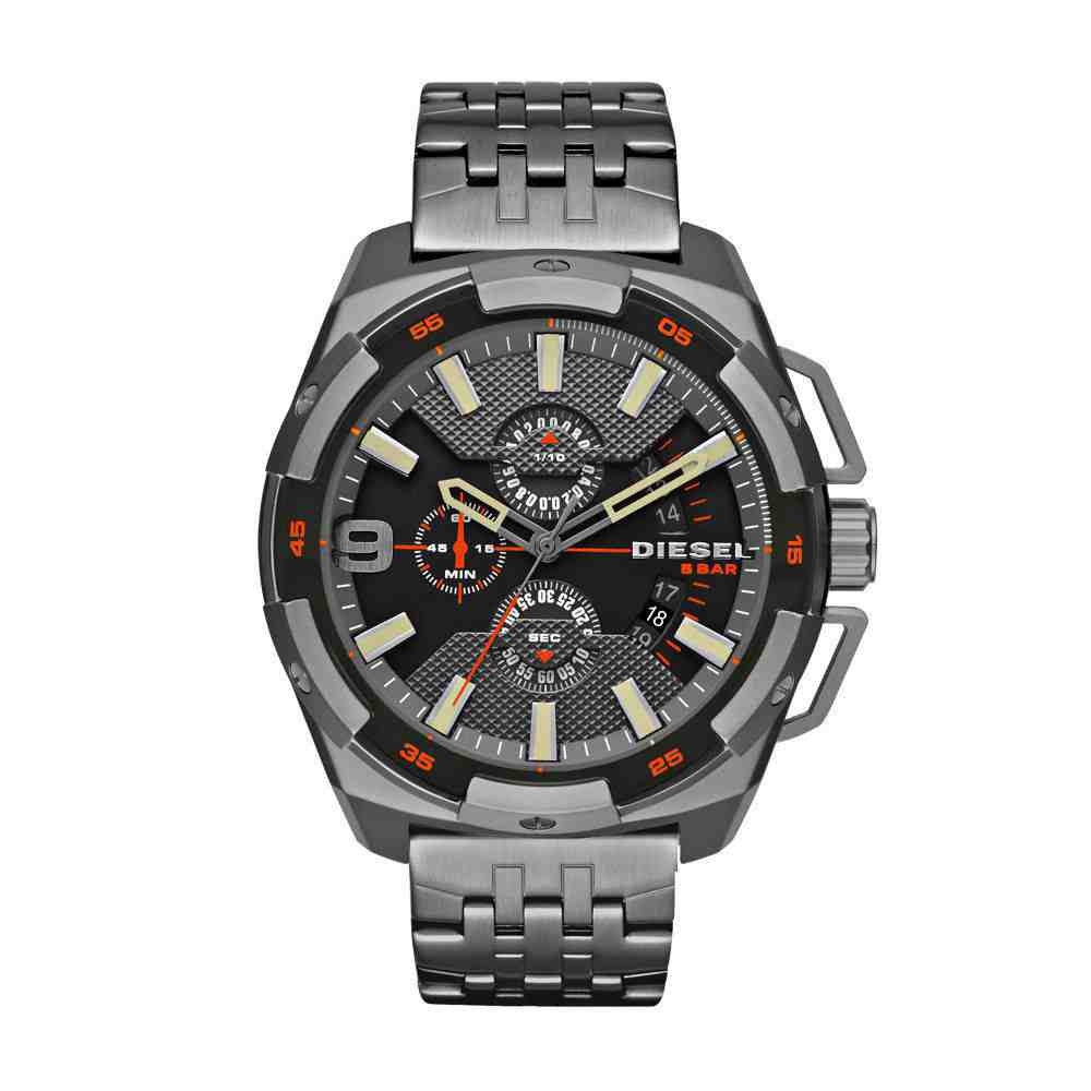 Relógio Diesel Masculino Machinus - Dz4394/0pn