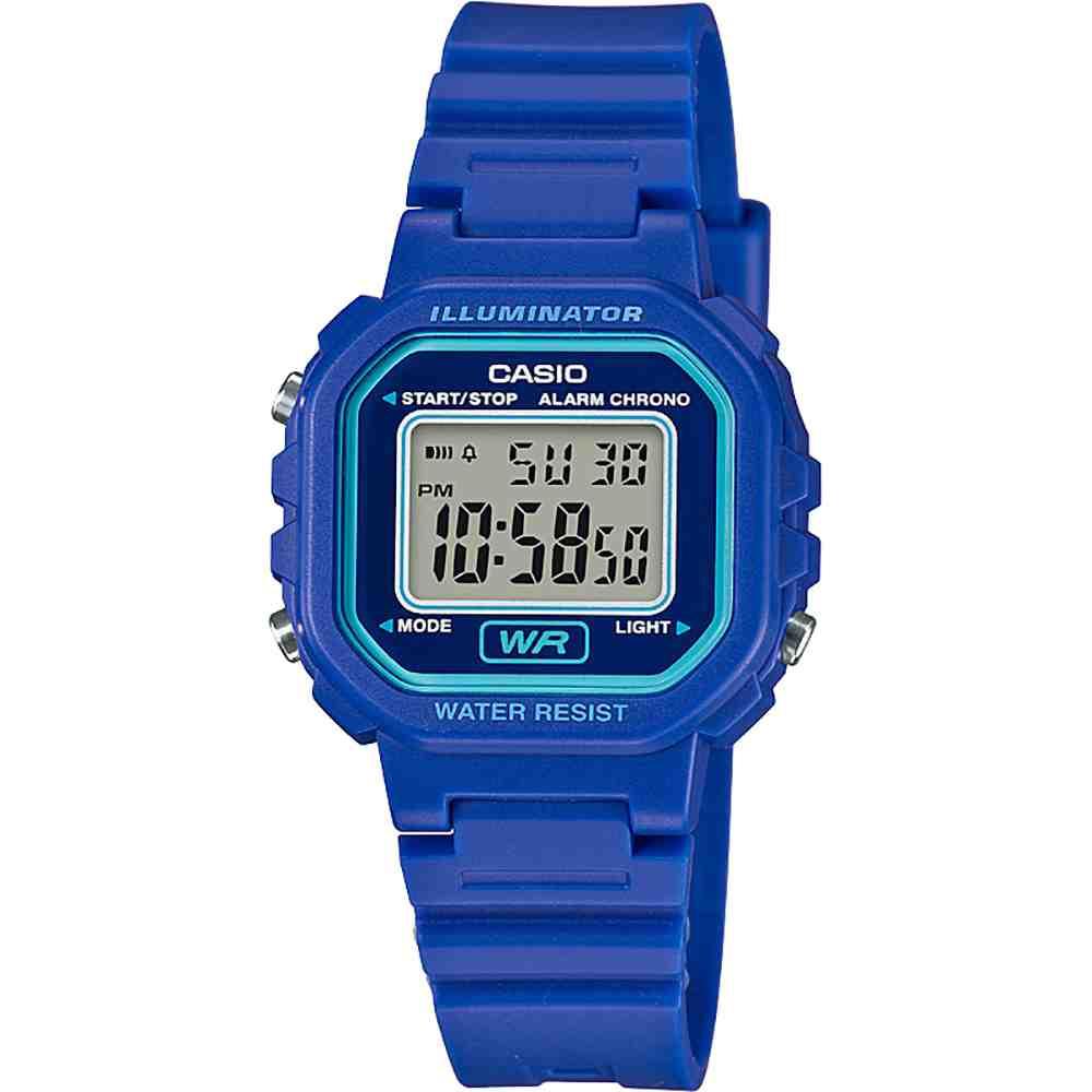 Relógio Digital Feminino Casio LA-20WH-2ADF
