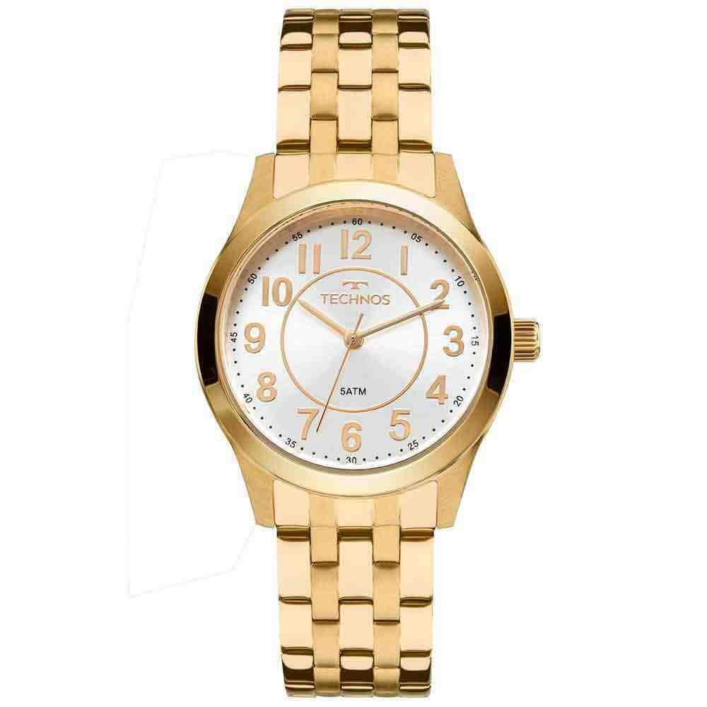 Relógio Feminino Analógico Technos 2035MJDS/4K Dourado