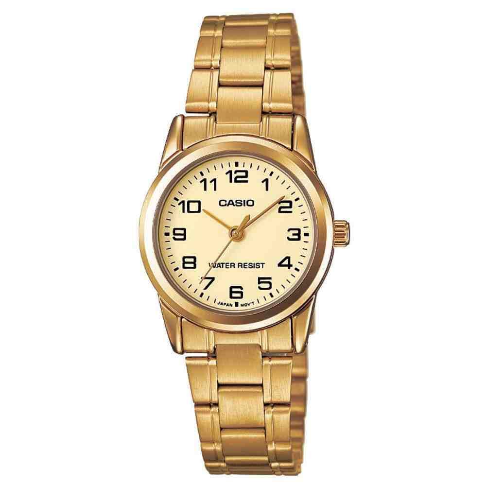 Relógio Feminino Casio Analógico LTP-V001G-9BUDF