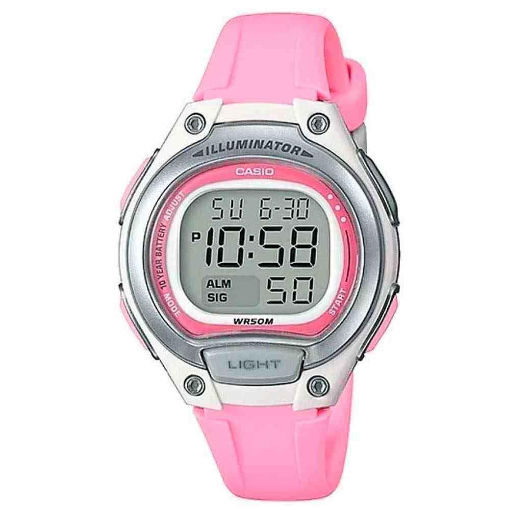Relógio Feminino Casio Digital LW-203-4AVDF