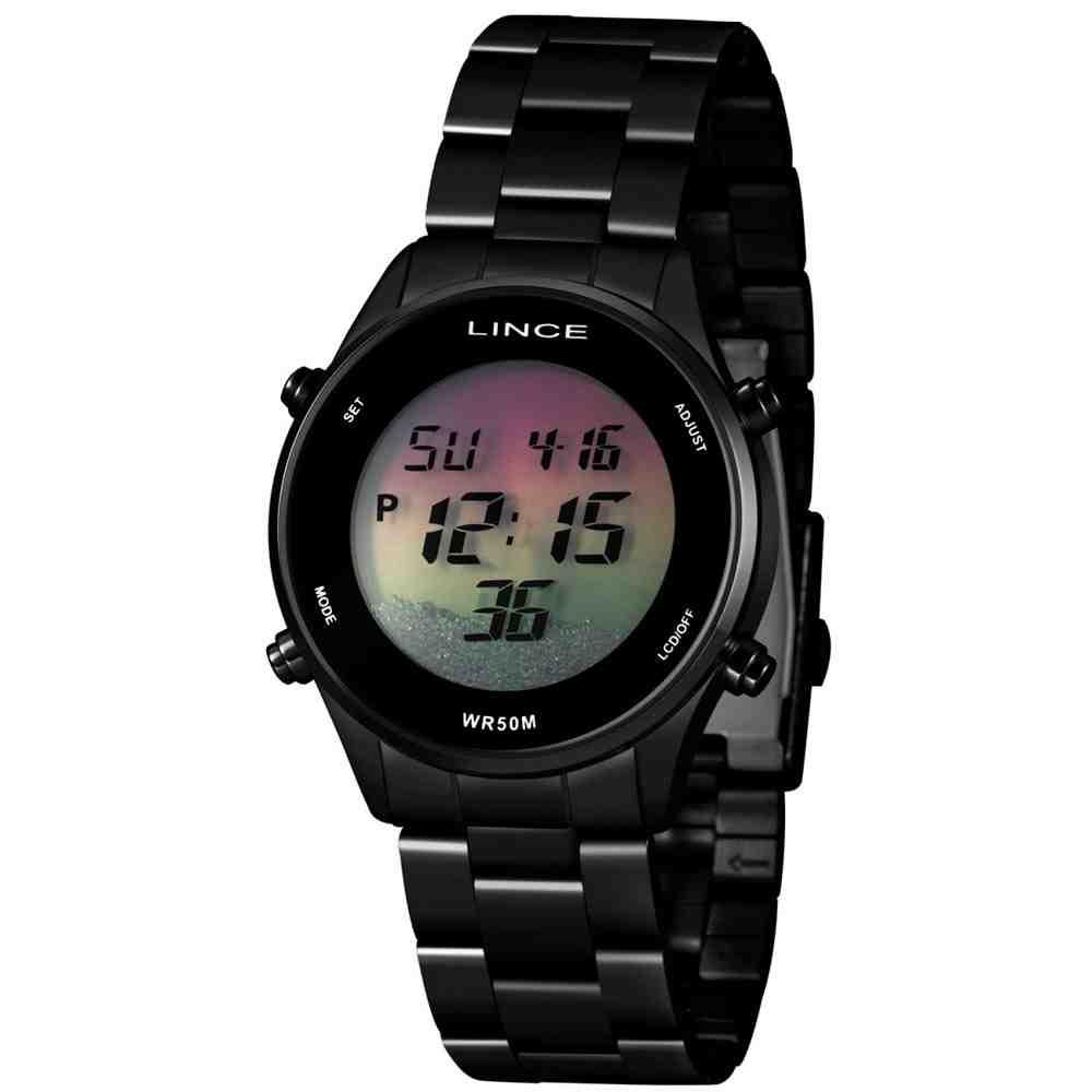 Relógio Feminino Digital Lince SDN4638L QXPX