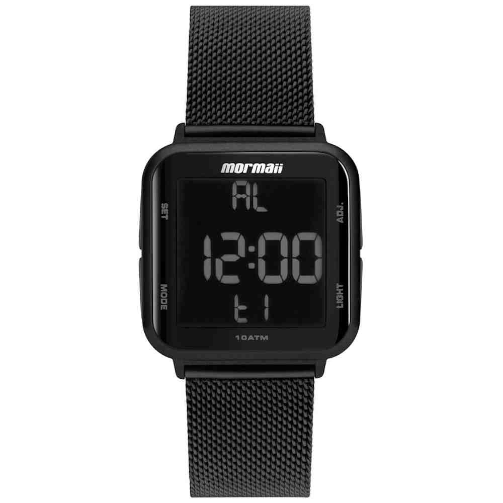 Relógio Feminino Digital Mormaii Digi Preto MO6600AG/8P