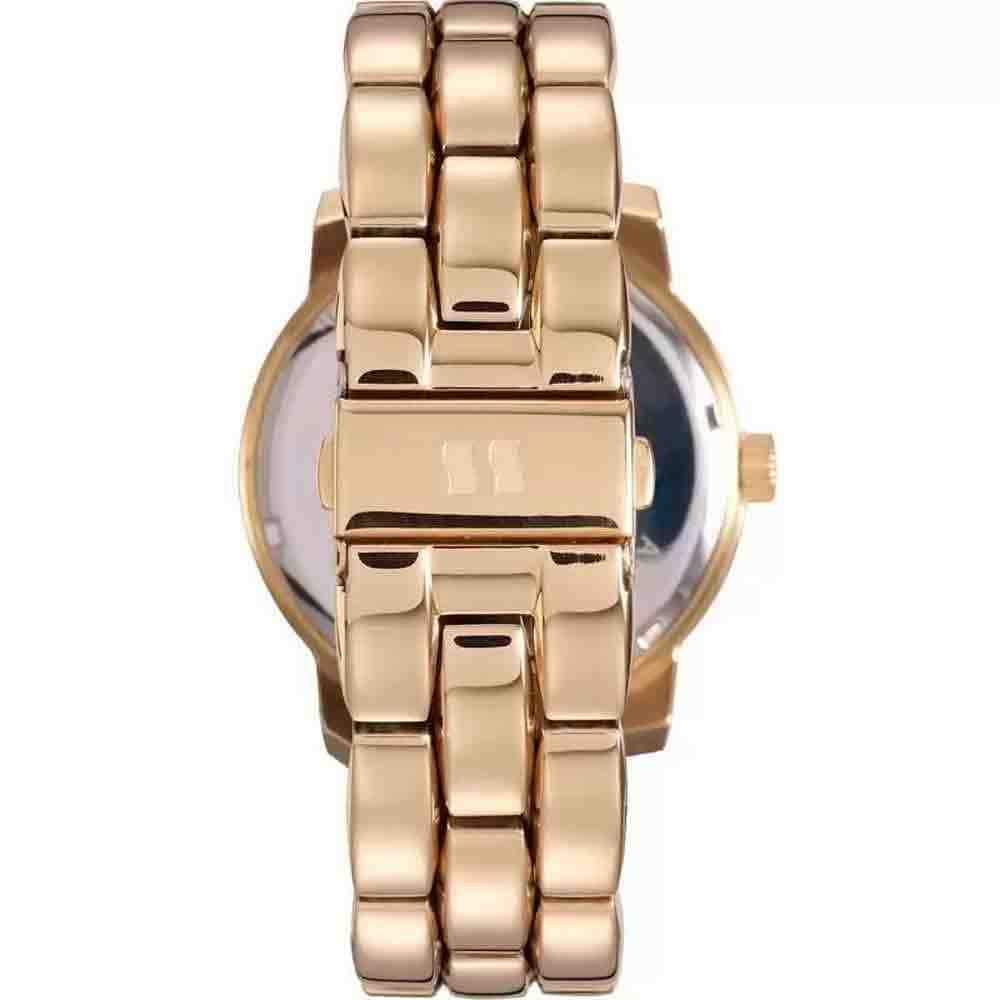 Relógio feminino dourado seculus analógico 20422LPSVDA1