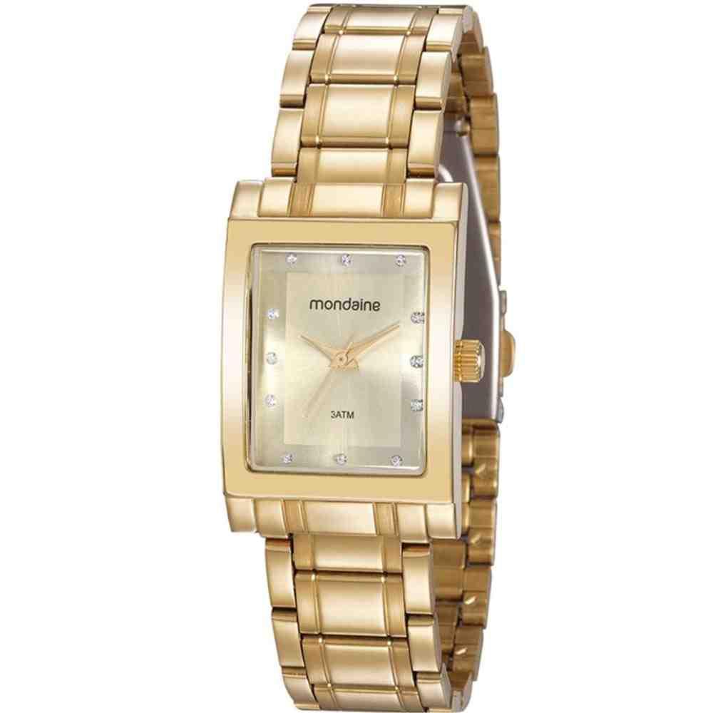Relógio Feminino Strass Mondaine 32103LPMVDE1