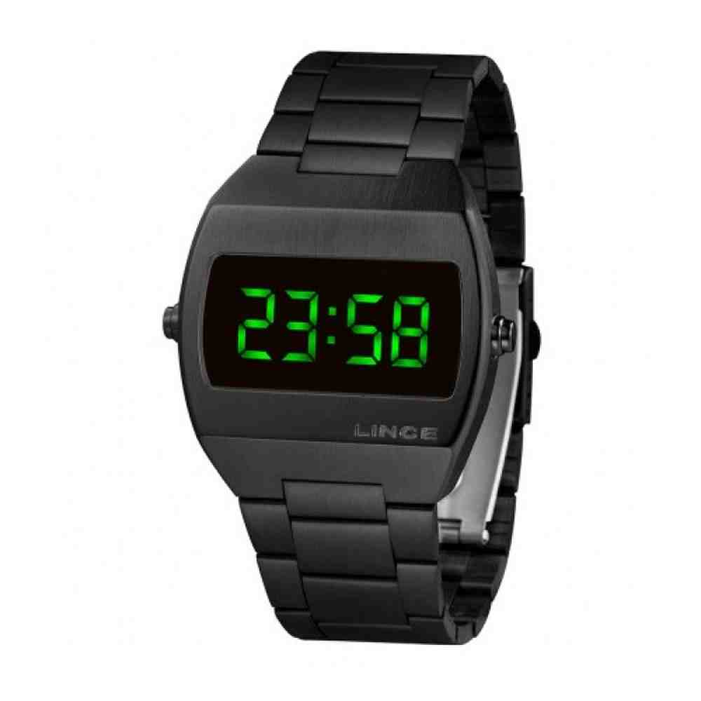 Relógio Lince Feminino Digital Quadrado Mdn4622L Expx