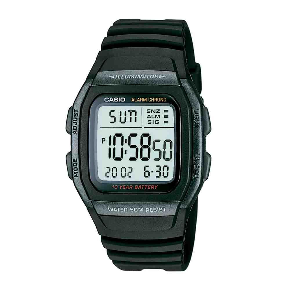 Relógio Masculino Casio Digital Esportivo W-96H-1AVDF
