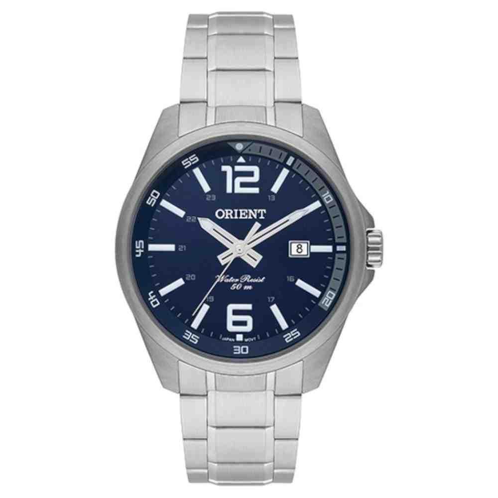 Relógio Orient Masculino Prata MBSS1275 D2SX