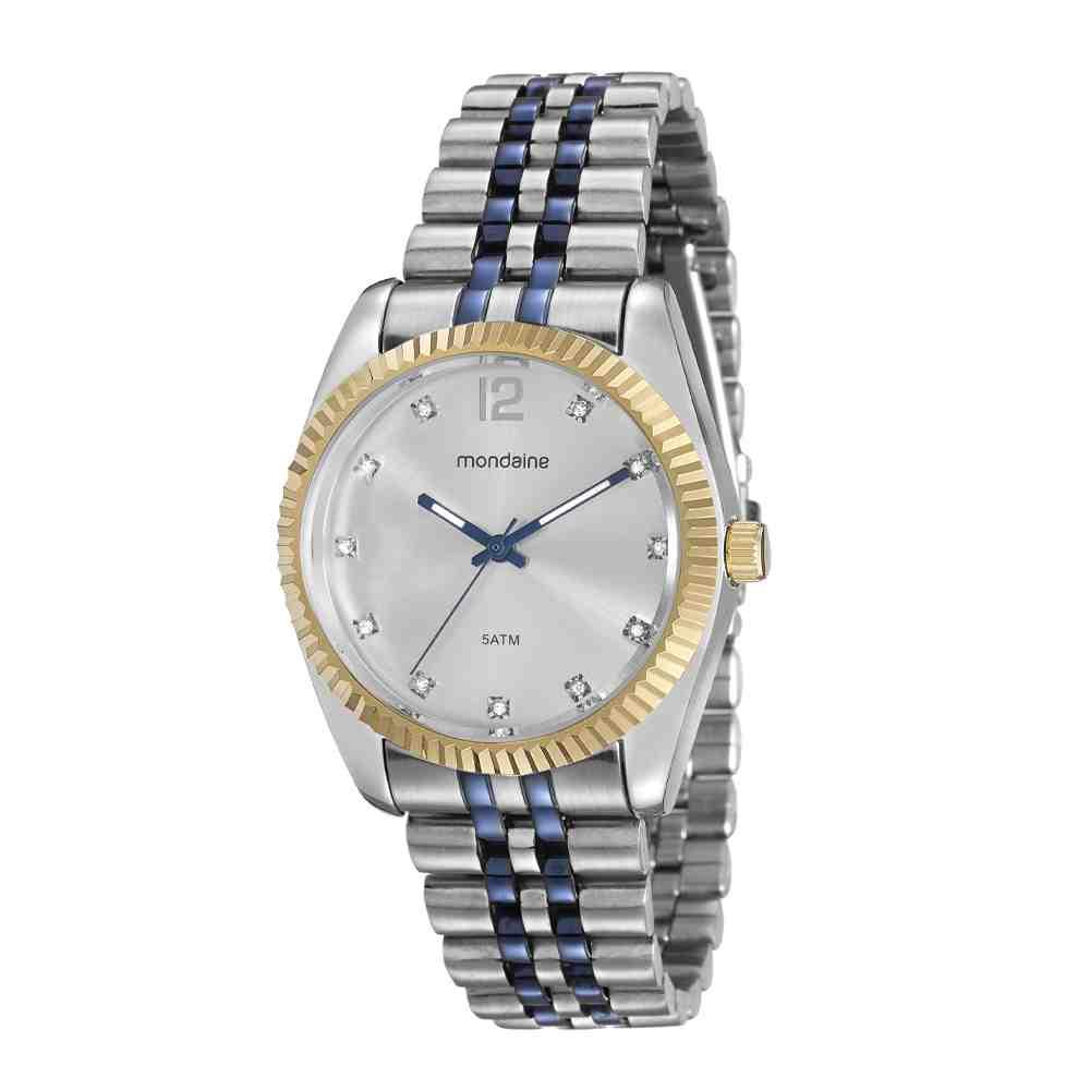 Relógio Mondaine Feminino Bicolor 94987LPMVOS1