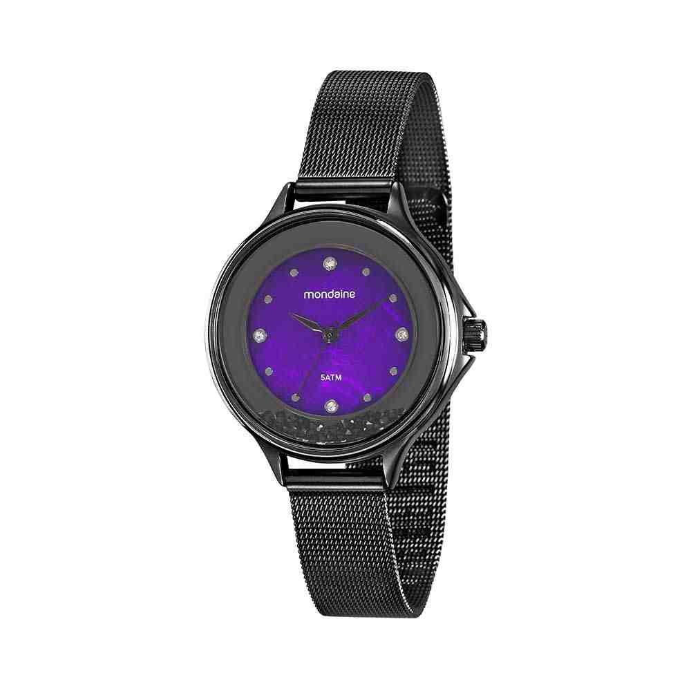 Relógio Mondaine Feminino Malha de Aço 99339LPMVPE1