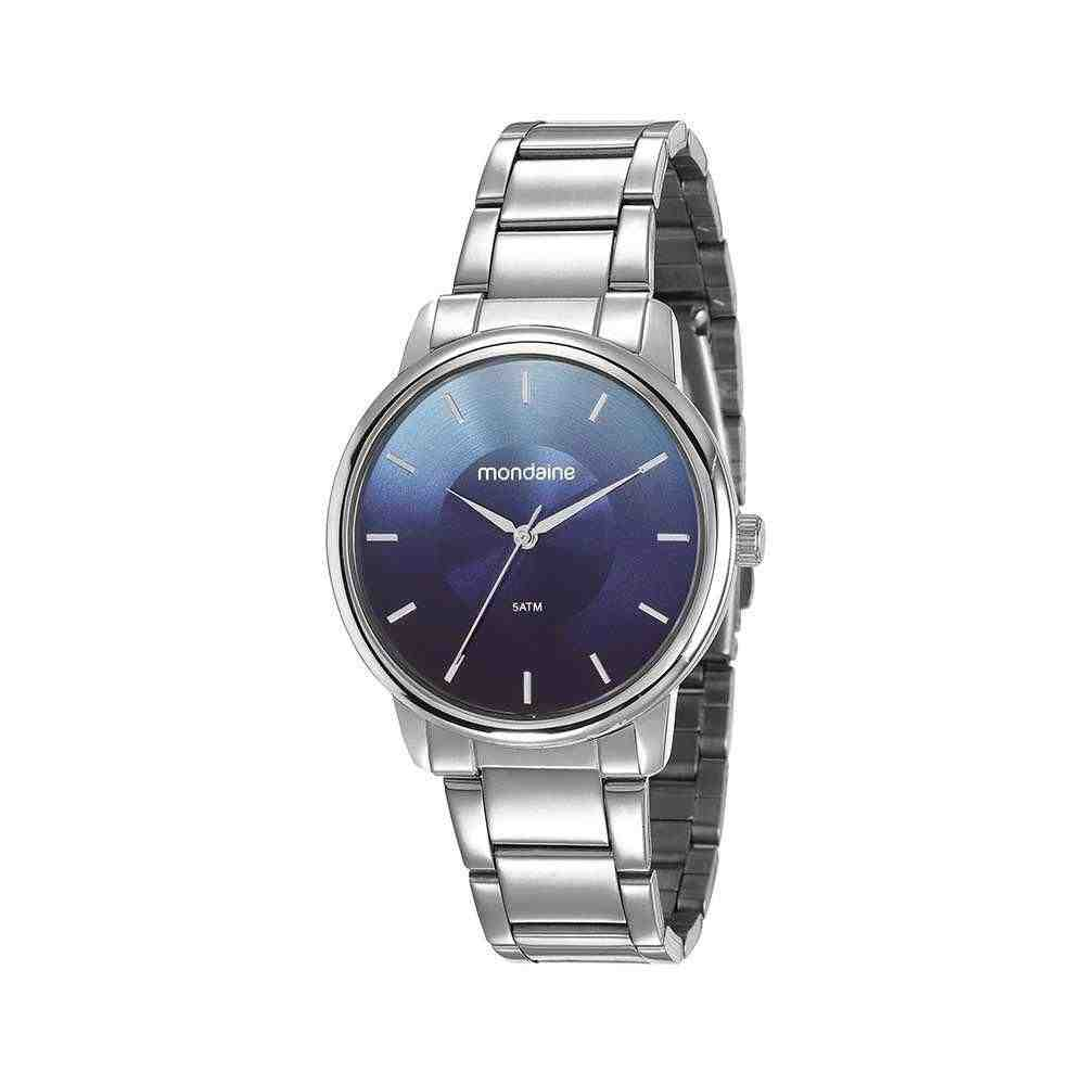 Relógio Mondaine Feminino Prata 53606L0MVNE6