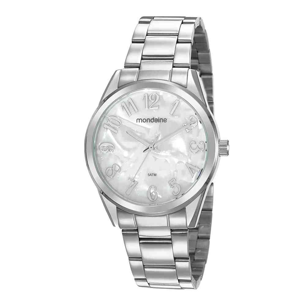 Relógio Mondaine Feminino Prata 99575L0MVNE1
