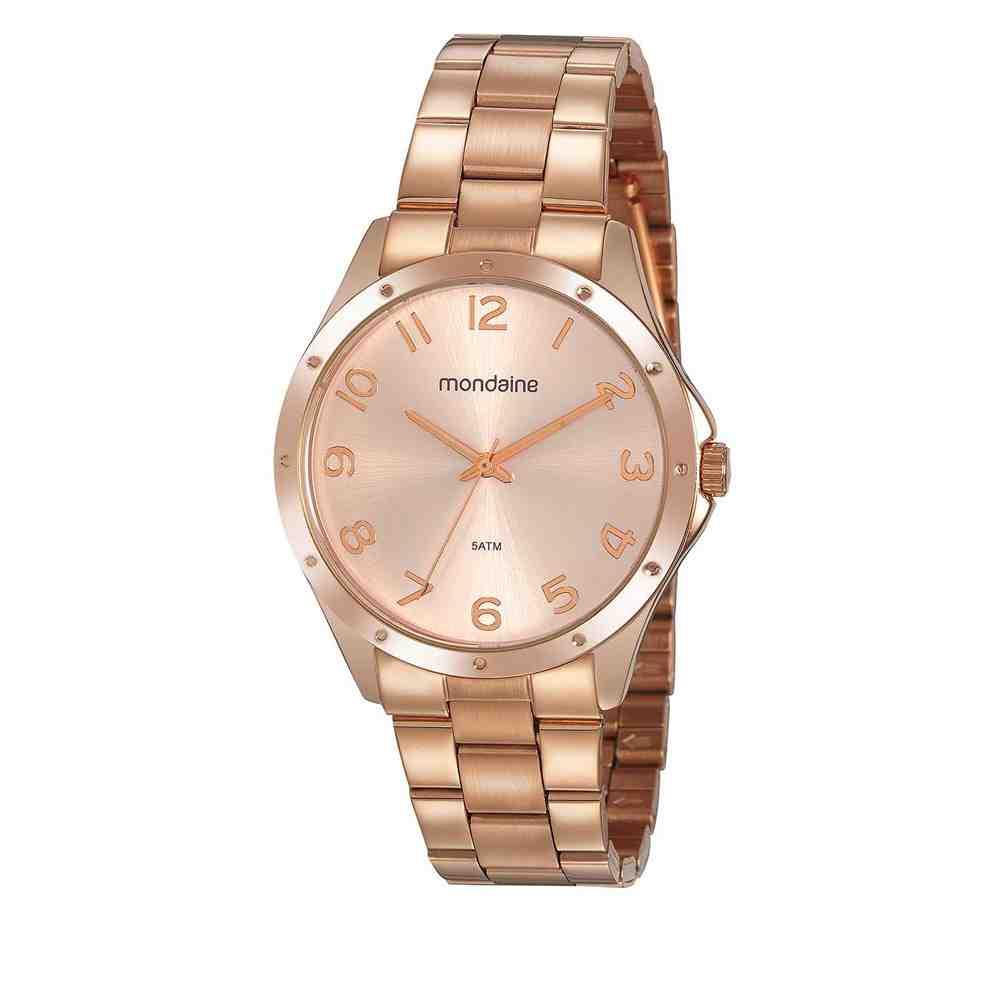 Relógio Mondaine Feminino Rosé 32213LPMVRE2