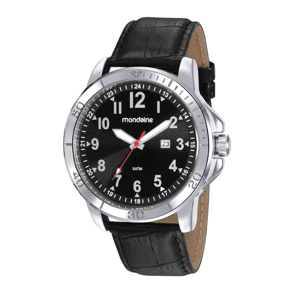 Relógio Mondaine Masculino Classic Prata 99412G0MVNH1