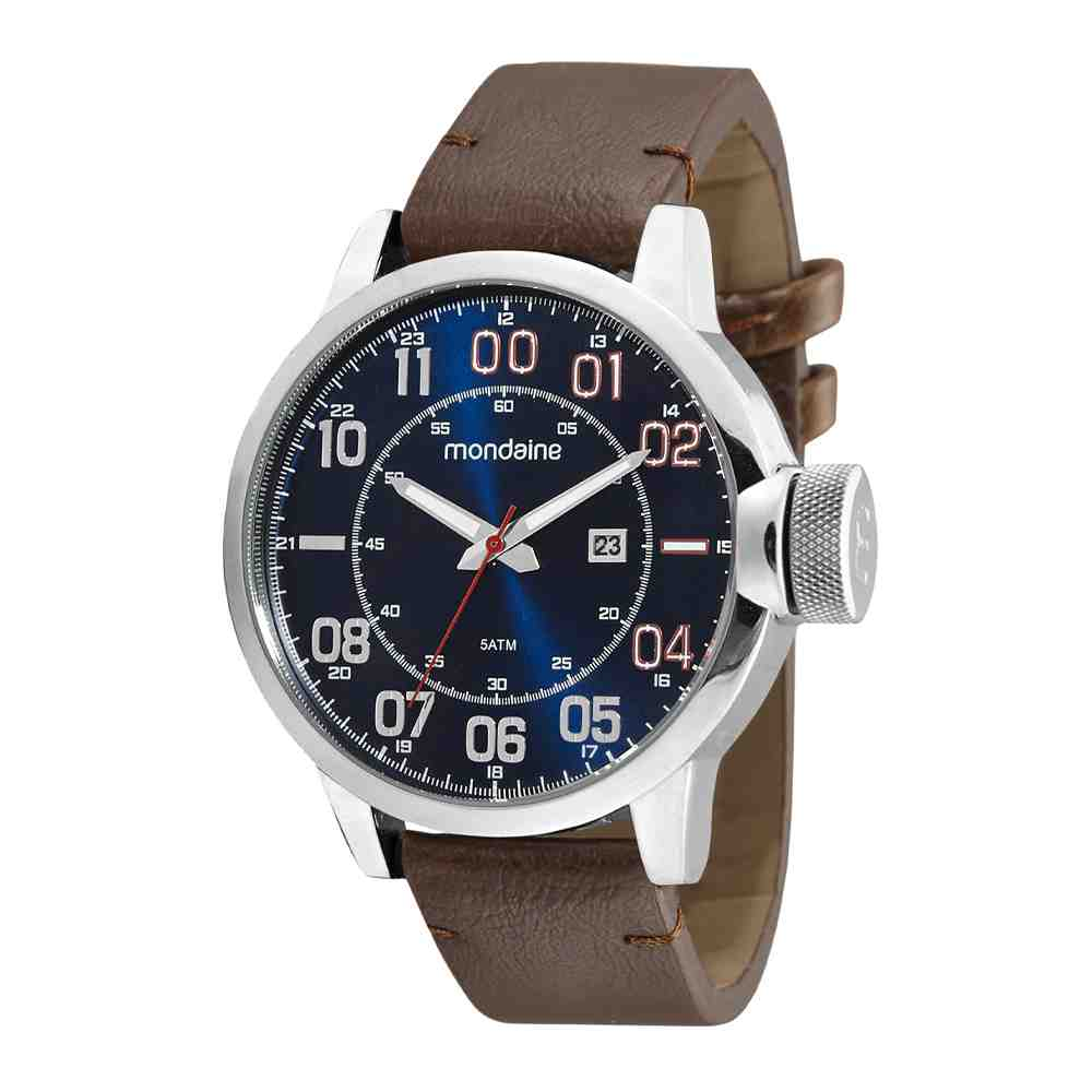 Relógio Mondaine Masculino Prata 99544G0MVNH1