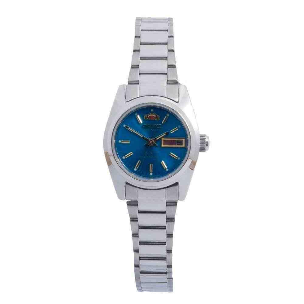 Relógio Orient Feminino Automático 559wc8x A1sx Azul