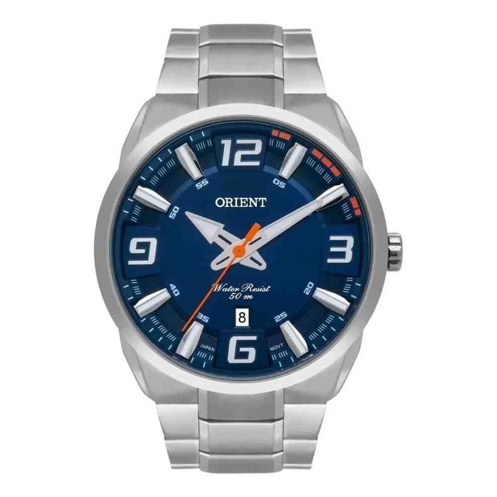 Relógio Orient Masculino Prata MBSS1359 D2SX