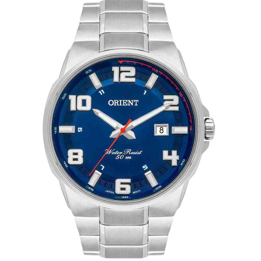 Relógio Orient Masculino Prata MBSS1366 D2SX