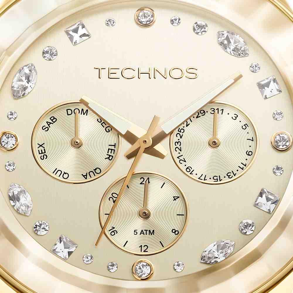 Relógio Technos Analógico Feminino 6P29AHD/4X
