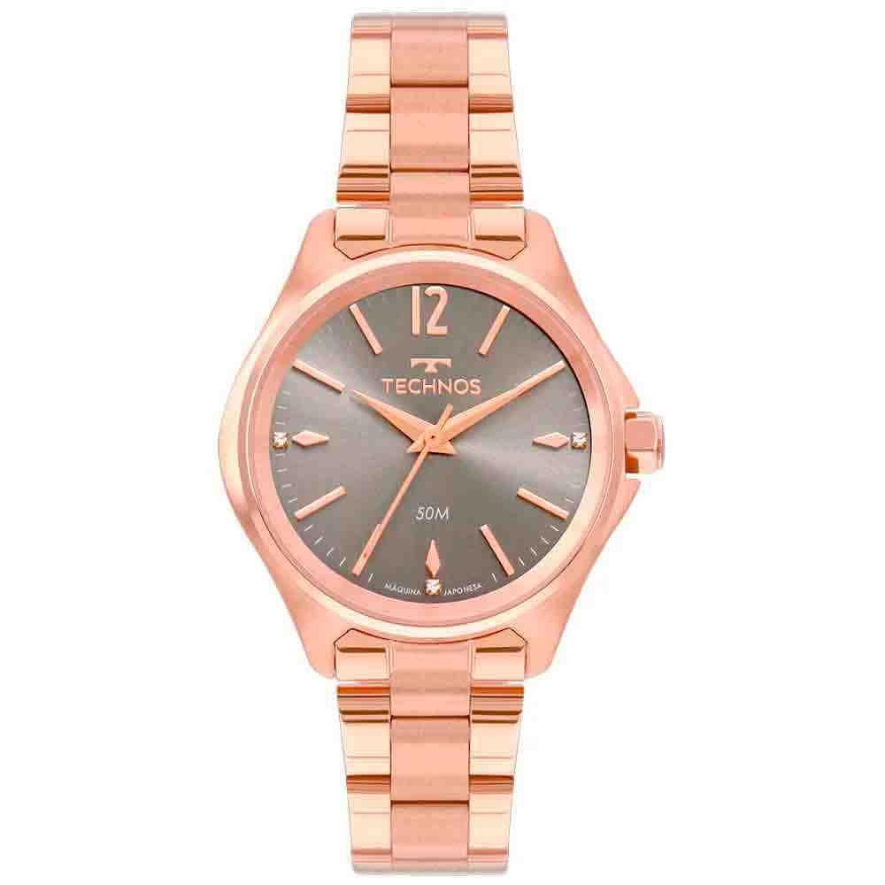 Relógio Technos Boutique Feminino Rosé 2035mri/4c