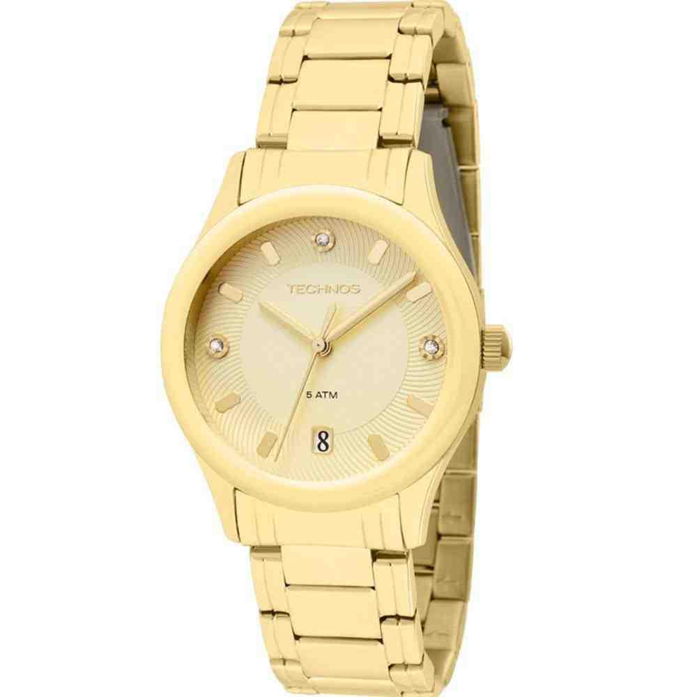 Relógio Technos Feminino Analógico Elegance 2117aa/4x