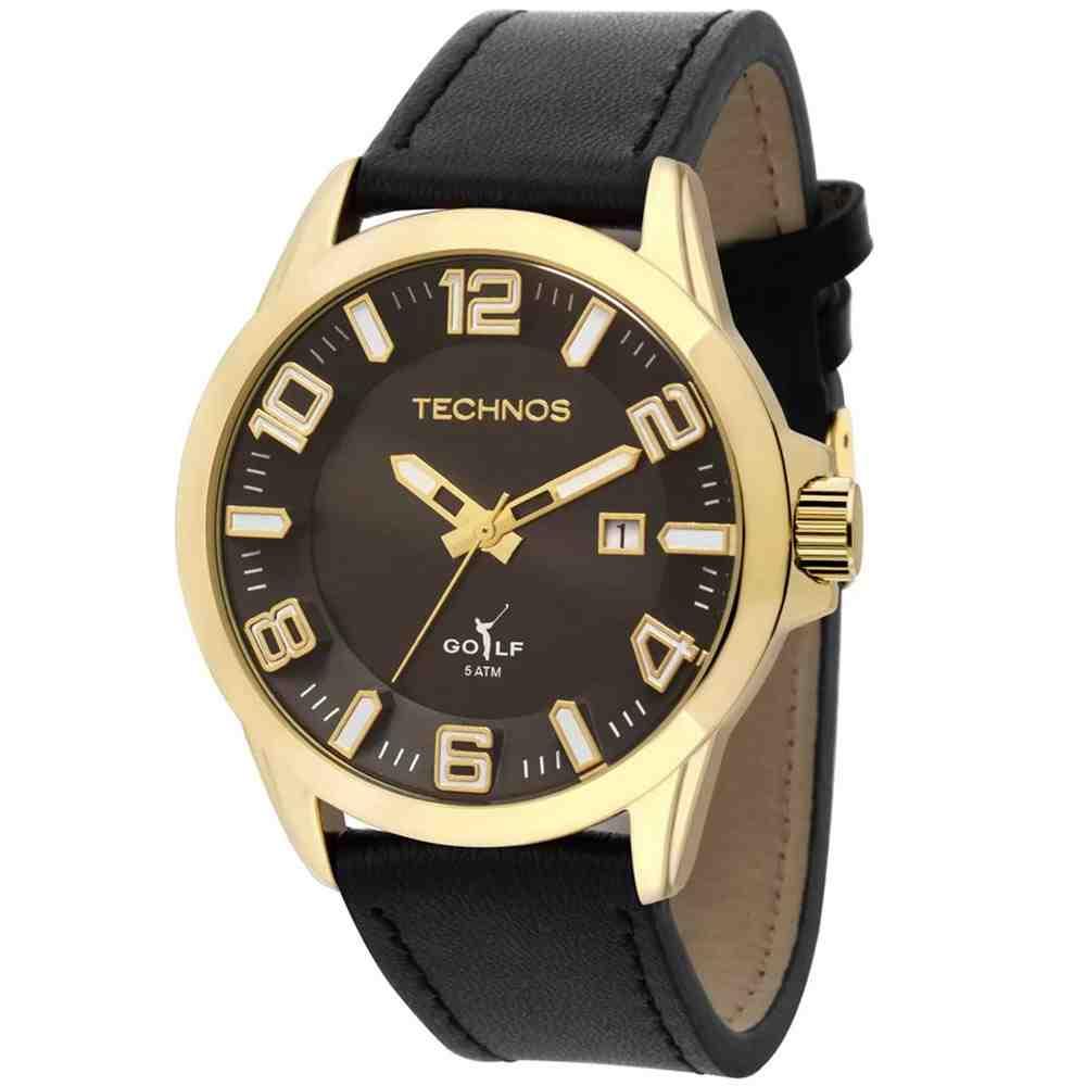 Relógio Technos Golf Masculino Analógico - 2115KRM/4C