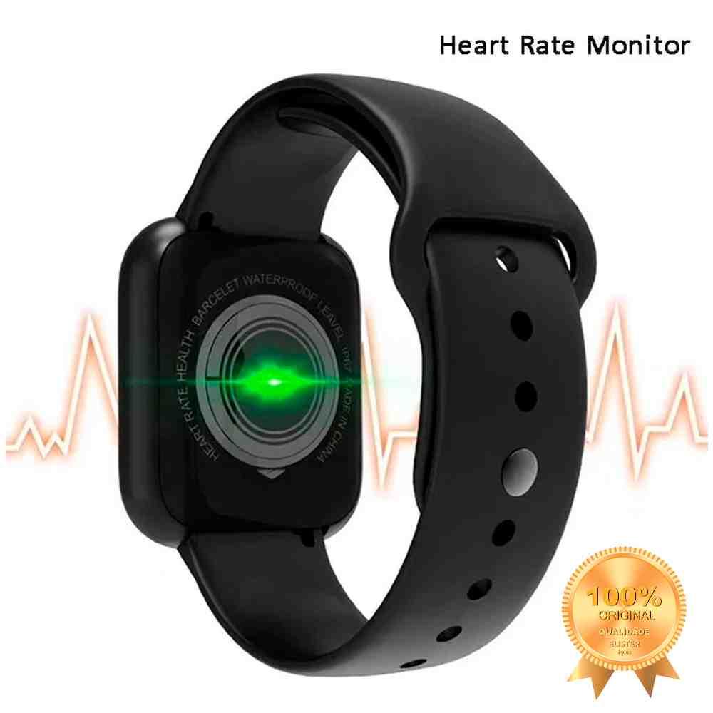 Smartwatch Relógio D20 Preto Y68