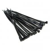 Abraçadeira nylon preta 7.6mm x 400mm pacote c/ 50 peças Bestfer