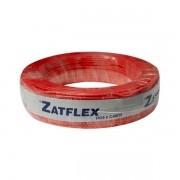 Cabo flexível 1,5mm x 100m Vermelho Zatflex