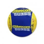 Cabo flexível 4,0mm x 100m Amarelo Cobrecom