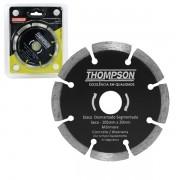 Disco de corte diamantado segmentado 105mm Thompson