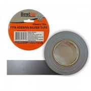 Fita adesiva silver tape 45mm x 25m Bestfer