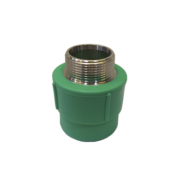 Adaptador de transição fêmea/macho metálico PPR 25mm X 1/2 - (14218) Amanco