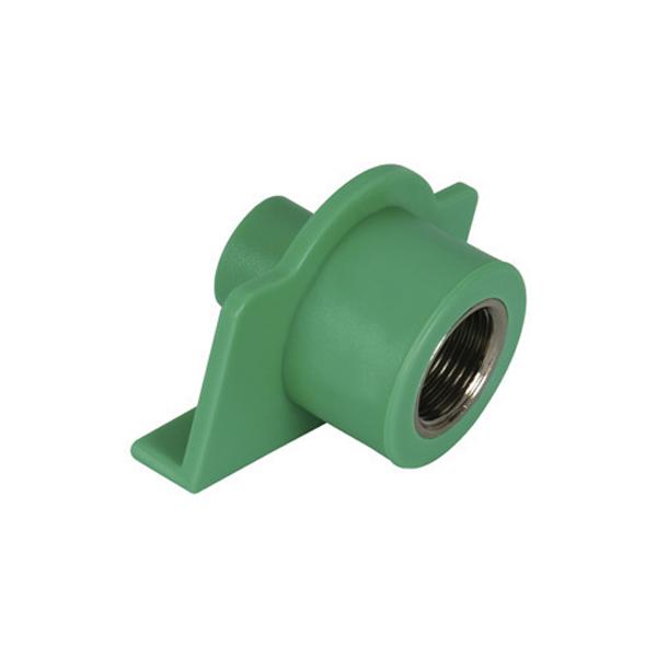 Adaptador de transição macho/fêmea para dry wall PPR 25mm X 3/4 - (14229)  Amanco