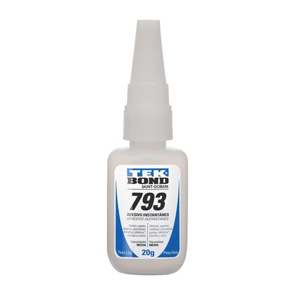 Adesivo instantâneo 793 20g Tekbond