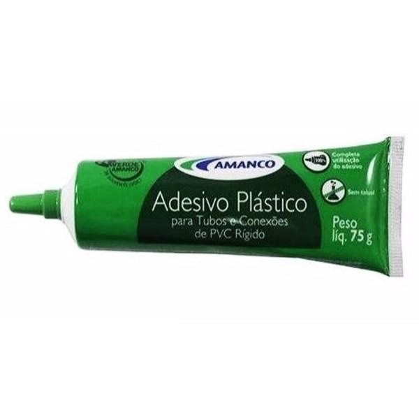 Adesivo plástico bisnaga 75g Amanco
