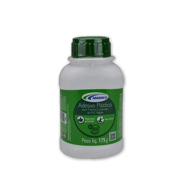 Adesivo plástico frasco c/ pincel 175g Amanco