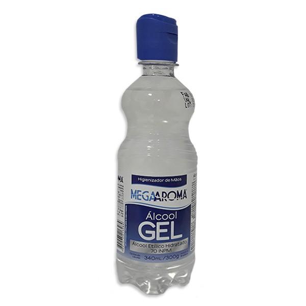 Álcool em gel 70%  300gr / 340ml
