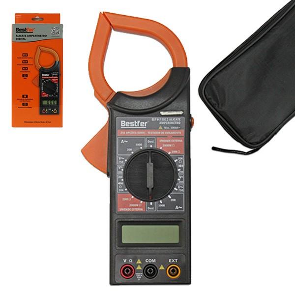 Alicate amperímetro digital Bestfer
