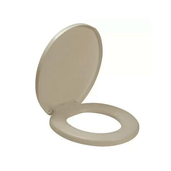 Assento sanitário confort areia Amanco