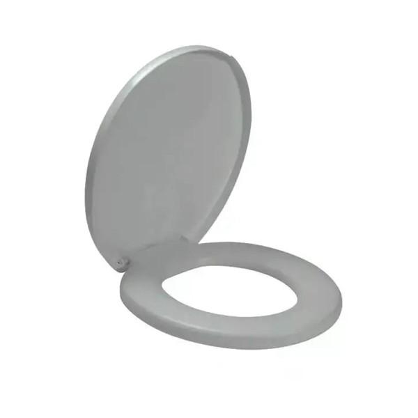 Assento sanitário confort cinza Amanco