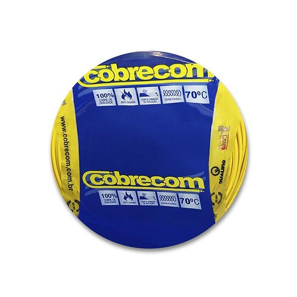 Cabo flexível 1,5mm x 100m Amarelo Cobrecom