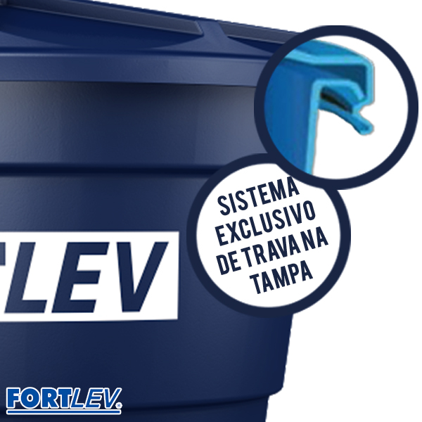 Caixa d'água polietileno 1000L Fortlev