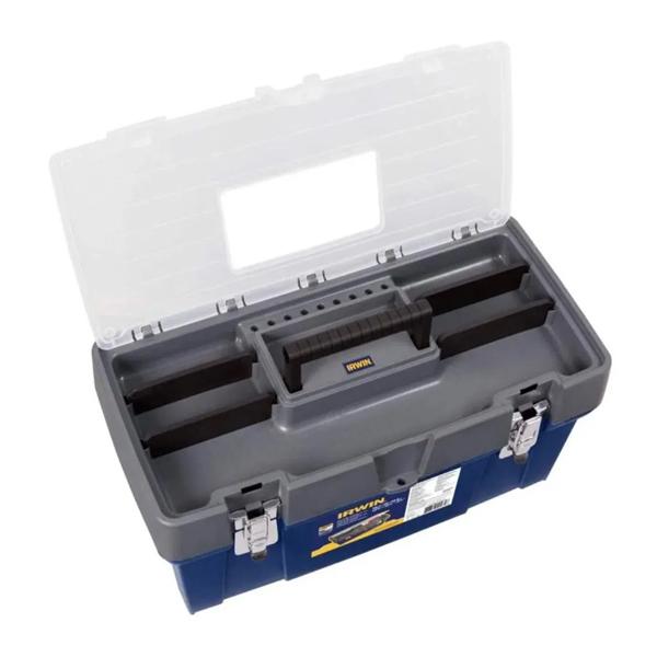 "Caixa de ferramentas c/ tampa organizadora 19"" (IWST19061-LA) Irwin"