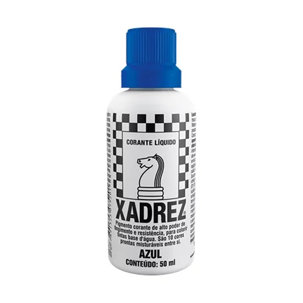 Corante líquido xadrez azul 50ml Sherwin Williams